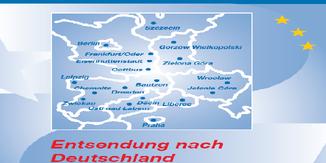 """Titelblattausschnitt """"Entsendung nach Deutschland"""""""