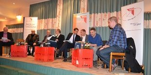 Podiumsdiskussion Aktion Schlachthof in Oldenburg