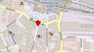 Karte Oldenburg