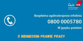 Hotline Coronavirus und Arbeitsecht Polnisch