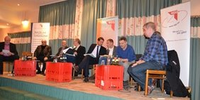 Podiumsdiskussion Aktion Schlachthof in Oldenburg