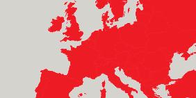 Kartenausschnitt: Europa