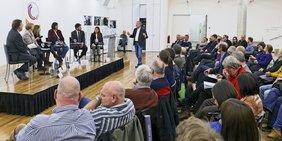 Podiumsdiskussion Faire Mobilität Stuttgart