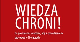 Wissen ist Schutz Polnisch