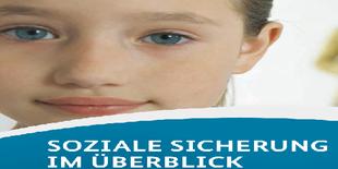 """Titelblattausschnitt """"Soziale Sicherheit in Deutschland"""""""