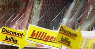 Fleischangebot im Supermarkt
