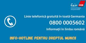 Hotline Coronavirus Arbeitsrecht Rumänisch